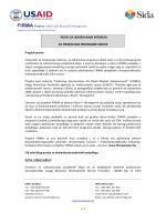 Poziv za izražavanje interesa za prijedloge programa obuke