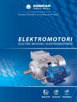 Katalog - Elektromotori