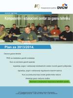 Plan edukacionog centra za 2013_2014. godinu - IGT-a