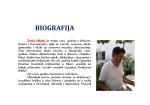 BIOGRAFIJA - Žarko Milenić