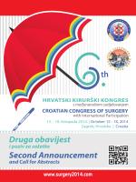 Druga obavijest o kongresu - Hrvatsko kirurško društvo