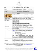 PLACE 2GO 2015 ( 13.03 – 15.03.2015 )