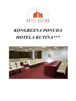 Kongresi - Hoteli Daim