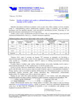 Izvješće o kvaliteti vode za piće iz