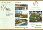 Ekstenzivni zeleni ravni krovovi