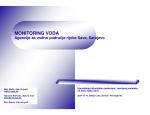 MONITORING VODA - International Sava River Basin Commission