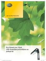 Eco StreetLine | Park LED-Svjetiljka pričvršćena na podupirač