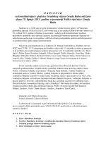 Zapisnik sa konstituirajuće sjednice Gradskog vijeća Grada Raba