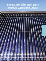priprema potrošne tople vode i primjena solarnih kolektora