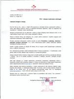 Obavijest Povjerenstva za edukaciju i trajno