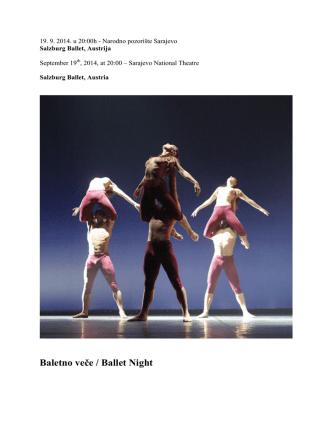 Baletno veče / Ballet Night