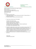 Zapisnik, upravni odbor 05.02.2015.