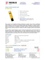 Tester tvrdoće/mekoće vode HI 98202 pNa Cijena ureñaja HI 98202