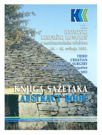 3. hrvatski kirurški kongres, Pula 2002.