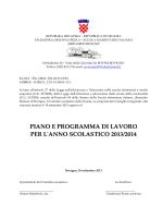 godišnji plan i program rada za školsku 2009