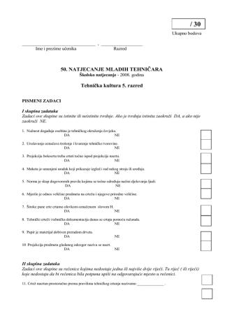 5 Pismeni zadaci.pdf - Osnovna škola Bedenica