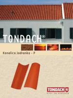TONDACH® Kanalica Jadranka P