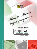 Max & Moris lager program