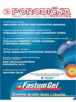 """Časopis """"Porodična medicina"""" broj 14 u pdf formatu"""