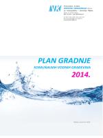 Plan gradnje vodnih građevina u 2014. godini
