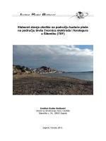 Elaborat stanja okoliša na području buduće plaže na području bivše