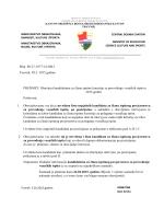 A i B) Kandidatima za člana ispitnog povjerenstva u ispitima za