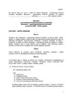 NACRT Na osnovu člana 23. stav 1. tačka b) Ustava Bosansko