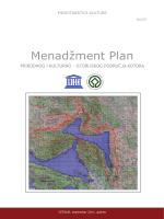 Menadžment Plan - Vlada Crne Gore