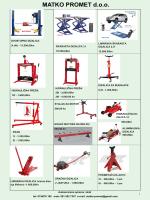 PDF katalog - Matko Promet