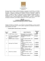Na osnovu člana 8. alineja 13. Statuta Fondacije za izdavaštvo V