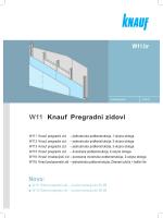 W11 Knauf pregradni zidovi