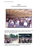 reportažni zapis (pdf) - 9. dani poljoprivrede općine konjic