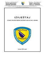 I Z V J E Š TAJ - Policija Brčko distrikta