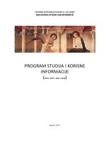 Program studija i korisne informacije.pdf