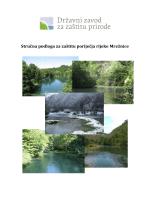 Stručna podloga za zaštitu poriječja rijeke Mrežnice