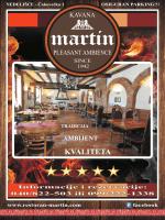KVALITETA - Restoran Martin