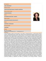 Ime i prezime AMELA IBRAHIMAGIĆ Akademski naslov DOKTOR