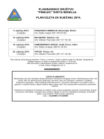 """""""pinklec"""" sveta nedelja plan izleta za siječanj 2014."""