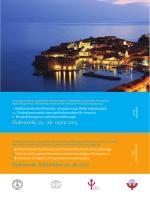 Dubrovnik, September 25-28, 2013