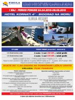 Hotel Kornati 4* - Biograd na Moru