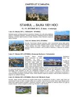 ISTANBUL … BAJKA 1001 NOCI