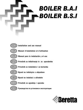 boiler bai & bsi prirucnik