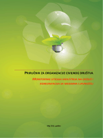 priručnik za organizacije civilnog društva monitoring uticaja