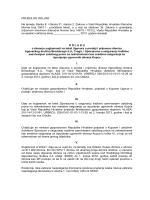 suglasnost na tekst Ugovora o prodaji i prijenosu dionica