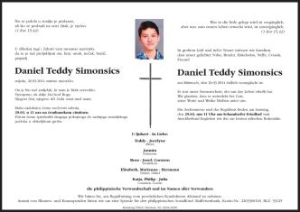 Daniel Teddy Simonsics Daniel Teddy Simonsics