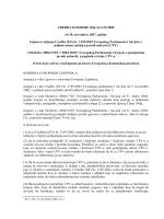 UREDBA KOMISIJE (EK) br.213/2008 od 28. novembra 2007