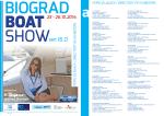 Popis izlagača - Biograd Boat Show