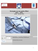 Strategija razvoja opcine Bihac 2014-2023