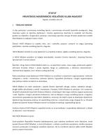 Pročišćeni tekst Statuta