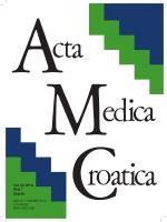 Vol 64 - Broj 1.pdf - Akademija medicinskih znanosti Hrvatske